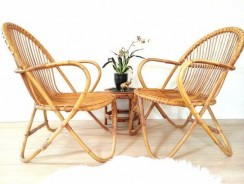 Getting A Tropical Look With Bamboo Chairs